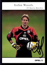Stefan Wessels Autogrammkarte Bayern München 1999/00 Original Signiert+ C 360