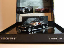 1:43 Minichamps 1968 ISO GRIFO 7 LITRI Black Lmtd.edition 3333--- neu in ovp