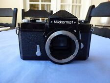 Nikkomat FT 35mm Film Camera Black Body in Working Condition