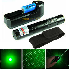 5 Miles Green Laser Pointer 851 1mw 650nm Laser Light  Beam + Battery + Charger