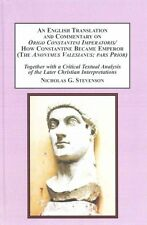 An English Translation and Commentary on Origo Constantini Imperatoris / How...