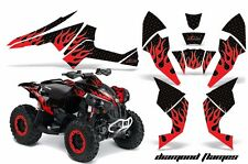 AMR Racing CanAm Renegade500/800/1000 Graphic Kit Wrap Quad Decal ATV All DFLM R