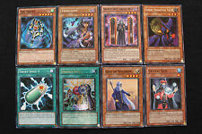 Spellcaster deck set (The Tricky, Tsukuyomi, Double Spell, Sage of Stillness...)