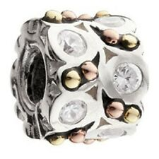 Authentic Chamilia 14K A NIGHT OUT .925 Sterling Silver European Bead