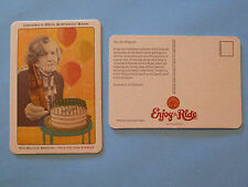Beer Coaster:  NEW BELGIUM Brewing Co; Grambo's 85th Birthday Bash, True Stories