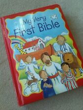 My Very First BIBLE - large padded board BOOK in ex. Condition - Christmas gift
