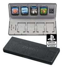 Official Sony PS Vita PSV - 10 in 1 Memory & Game Card Case  - Holder Box