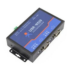 Q18040 USRIOT USR-N520 Serial to Ethernet Server TCP IP Converter Double Serial