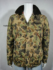 Polo RALPH LAUREN Military Hunting Anorak Camouflage Quilted Down Jacket size XL