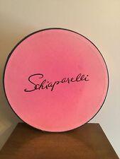 Vintage Schiaparelli Pink Hat Box