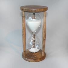 Sanduhr Eieruhr Sanduhren Buche gebeizt 30 Minuten halbe Stunde