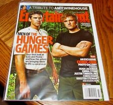 HUNGER GAMES Liam Hemsworth Josh ENTERTAINMENT WEEKLY Magazine #1166 August 2011