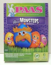 Mini MONSTERS Egg Decorating Kit by PAAS - Make Monster Eggs w/ Hair & Stickers
