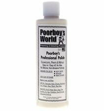 Poorboys Professional Polish Car Polish Compound 473ml detailing Poorboy`s Word