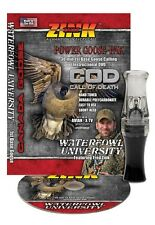 ZINK COD GUNSMOKE POLY GOOSE CALL AND INSTRUCTIONAL DVD COMBO NEW!!!