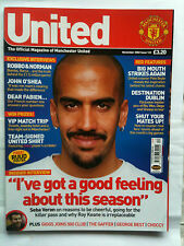 No 122 Manchester United Official Magazine November 2002