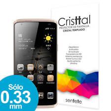 Protector Pantalla CRISTAL TEMPLADO Premium para ZTE Axon Mini - SENTETE -