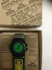 Gul ARROW  GREEN Velcro Strap Wrist Watch Surf Skate Water Resistant