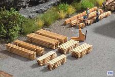 N14214 Noch HO/OO Scale Laser Cut Minis - Plank Piles (8)