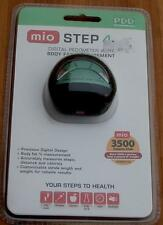 MIO Step 4 Digital Pedometer with Body Fat Measurement - BRAND NEW IN PACK