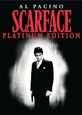 SCARFACE PLATINUM EDITION 2 DISC DVD LIKE NEW NEVER VIEWED AL PACINO