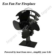 New Anti Season Promotion 17% Fuel Saving Eco Stove Quiet Heat Powered Stove Fan