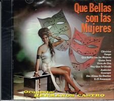 Orquesta Hermanos Castro Que Bellas Son Las Mujeres BRAND EW SEALED  CD
