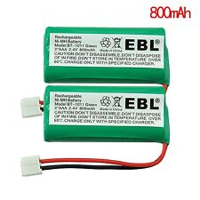 2pack Cordless Home Phone Battery for AT&T/Lucent BT184342 BT28433 BT18433 3101