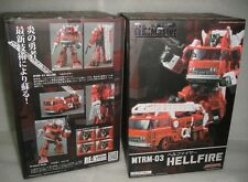 New Maketoys Transformers Re:master MTRM-03 Hellfire Inferno Figure In Stock
