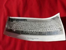 1957 Professional Pano. Photograph Vermont GREEN MOUNTAIN BOYS '43' Signatures