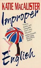 Improper English by Katie MacAlister (2003, Paperback)