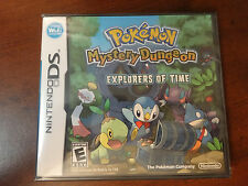 Pokemon Mystery Dungeon: Explorers of Time - DS - Sealed in Box!