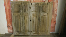 C11a (41 x 37 1/4) Pair of Old Georgian Pine Cupboard Doors in York