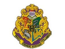Harry Potter ecusson brodé Ecole Poudlard Hogwarts shield patch
