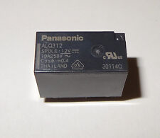 1 pc Relay 12V coil, 10A contact, SPST by Panasonic P/N ALQ312