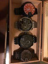4 DIESEL Watches Time Frames retail $1000+ Thavar Thanaz