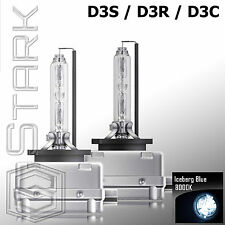 Pair - 8000K D3S D3R D3C HID Xenon Bulbs Replace Factory HID Headlights