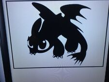How to train you dragon toothless dragon car vinyl decal sticker wall window