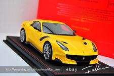 BBR 1:18 ferrari F12 tdf 2016 yellow