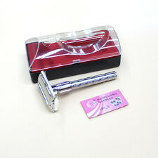 Men's Gentlemen Safety Double Edge Blade Shaving Hair Razor Shaver Blades Hot