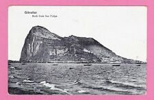 Gibraltar Rock from San Felipe. Card is unposted.