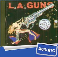 "L.A. GUNS "" COCKED & LOADED "" CD SIGILLATO 1989 VERTIGO - PHONOGRAM"