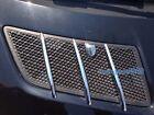 Chrome Hood Vent nozzle molding Trim Fins Benz W164 ML 06-11/X164 GL Class 07-12