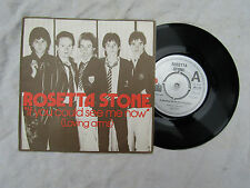 ROSETTA STONE IF YOU COULD SEE ME NOW EP n/m A label design........ 45rpm / rock