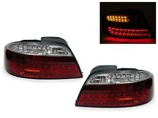 DEPO 02-03 Acura TL Red/Clear Euro LED Rear Tail Lights Type-S JDM