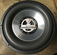 "NEW Old School Lightning Audio X1.15.vc2 15"" Competition Subwoofer,Rare,USA,TC"