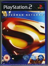 PS2 Superman Returns, UK Pal, Brand New & Sony Factory Sealed