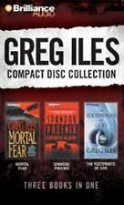 GREG ILES CD COLLECTION #2 - Mortal Fear, The Footprints of God, Spandau Phoenix
