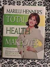 Marilu Henners Total Health Makeover Laura Morton 1998 Hardcover 0060392169 USED