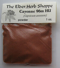 Cayenne Powder 96m HU Capsicum annuum - 1 oz. - The Elder Herb Shoppe